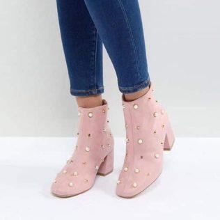 Glamorous Pearl Ankle