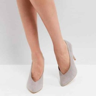 New Look Pointed Court Shoe
