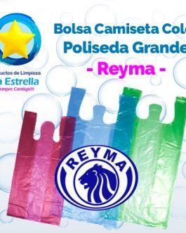 BOLSA CAMISETA COLOR POLISEDA GRANDE // REYMA
