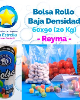 BOLSA ROLLO BAJA 60×90 (CAP. 20 KG. / LAVANDERIA GRANDE) // REYMA