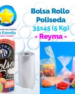 BOLSA ROLLO POLISEDA 35×45 – 5 KG. // REYMA