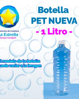 BOTELLA PET 1 LITRO