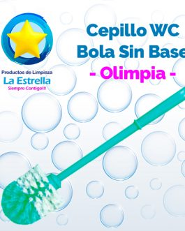 CEPILLO WC BOLA SIN BASE // OLIMPIA ***