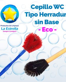 CEPILLO WC HERRADURA S/BASE***