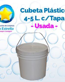 CUBETA USADA 4-5 LITROS
