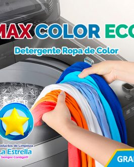 DETERGENTE MAX COLOR ECO