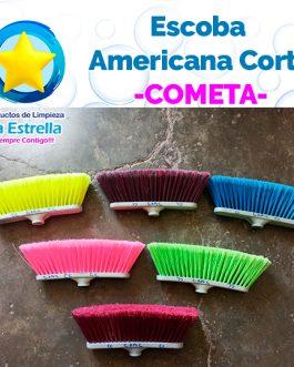ESCOBA AMERICANA CORTA // COMETA ***