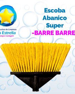 ESCOBA SUPER ABANICO // BARRE BARRE***