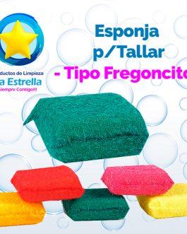 ESPONJA P/TALLAR TIPO FREGONCITO ***