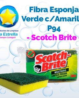 FIBRA ESPONJA VERDE/AMARILLO P94 MULTIUSOS ANTIBACTERIAL // SCOTCH BRITE