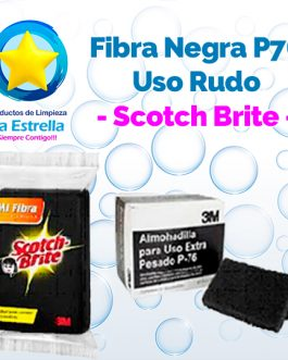 FIBRA NEGRA P76 USO RUDO // SCOTCH BRITE