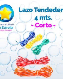 LAZO PLASTICO P/TENDEDERO CORTO 4 MTS. ***
