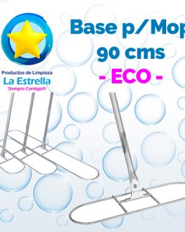 MOP BASE METALICA GRANDE 90 CMS ECO***