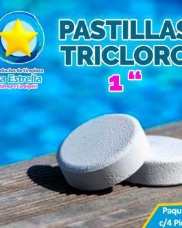 PASTILLAS TRICLORO (4 PZS)