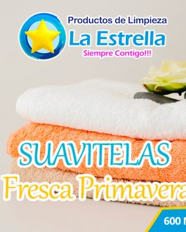 SUAVITELAS FRESCA PRIMAVERA SUPER (ENVASADO 600 ML)