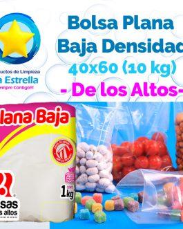 BOLSA PLANA 40×60 (CAP. 10 KG-LAVANDERIA CHICA) // ALTOS