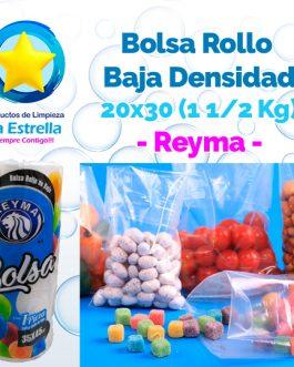 BOLSA ROLLO BAJA 20×30 (CAP. 1 1/2 KG.) // REYMA