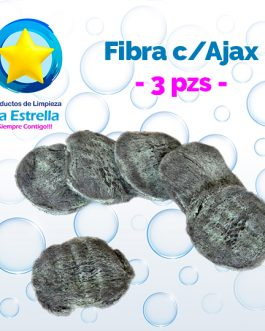 FIBRA C/AJAX (3 PZS)***