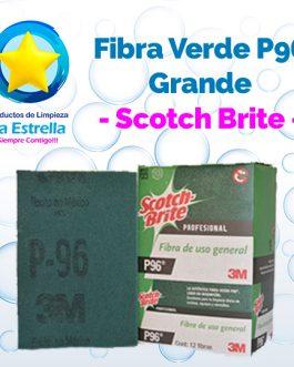 FIBRA VERDE P96 USO REGULAR GRANDE // SCOTCH BRITE