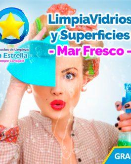 LIMPIAVIDRIOS Y SUPERFICIES MAR FRESCO