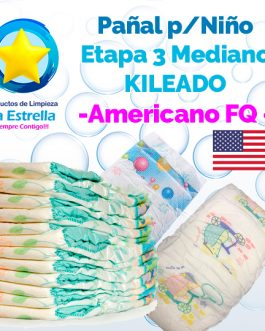 PAÑAL NIÑO ETAPA 3 – MEDIANO KILEADO // AMERICANO FQ