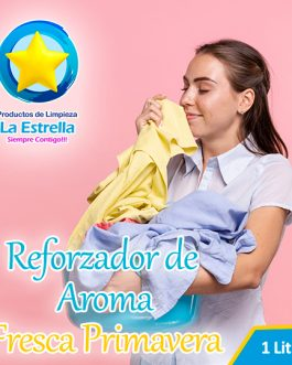 REFORZADOR DE AROMA C/PLANCHA FACIL FRESCA PRIMAVERA (ENVASADO 1 L.)