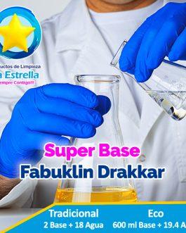 SUPER BASE FABUKLIN DRAKKAR (TRAD: 2+18 AGUA — ECO: 600 ML + 19.4 AGUA)