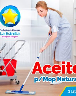 ACEITE P/MOP NATURAL 1 L.