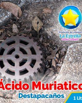 ACIDO MURIATICO DESTAPACAÑOS 1 LITRO