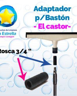 ADAPTADOR P/BASTON ROSCADO 3/4″ (JALADORES) // EL CASTOR