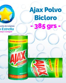 AJAX POLVO BICLORO 385 GRS