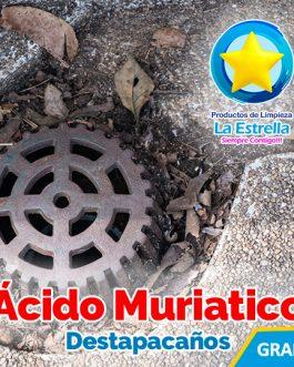 ACIDO MURIATICO DESTAPACAÑOS
