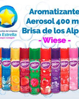 AROMATIZANTE AEROSOL BRISA DE LOS ALPES 323 GRS-400ML // WIESE (copy)