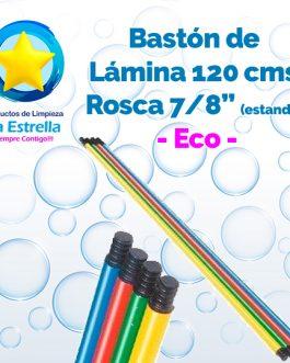 BASTON LAMINA ECO 1.2 M ROSCA PLASTICO 7/8″ (ESTANDAR)