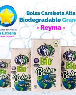 BOLSA CAMISETA ALTA BIO GRANDE // REYMA