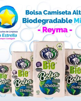BOLSA CAMISETA ALTA BIO MINI // REYMA