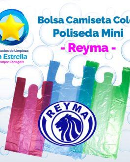 BOLSA CAMISETA COLOR POLISEDA MINI // REYMA