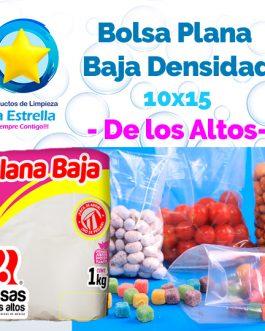 BOLSA PLANA 10×15 // ALTOS