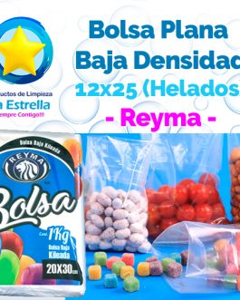 BOLSA PLANA 12×25 (HELADOS) // REYMA