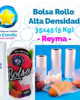 BOLSA ROLLO ALTA 35×45 (CAP. 5 KG.) // REYMA