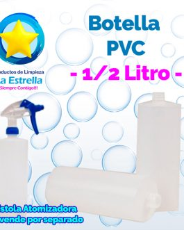 BOTELLA PVC 1/2 LITRO