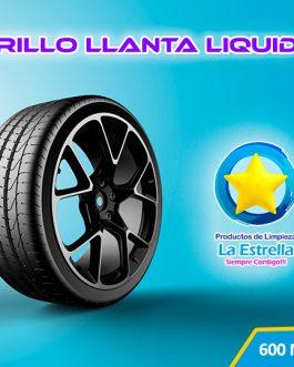 BRILLO LLANTA LIQUIDO TRADICIONAL (ENVASADO 600 ML)