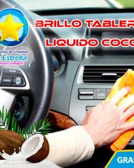 BRILLO TABLERO TRADICIONAL LIQUIDO AROMA COCO