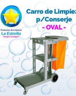 CARRO DE LIMPIEZA P/CONSERJE // OVAL