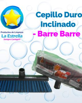 CEPILLO DURO INCLINADO C/BASTON // BARRE BARRE***