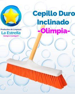 CEPILLO DURO INCLINADO C/BASTON // OLIMPIA***