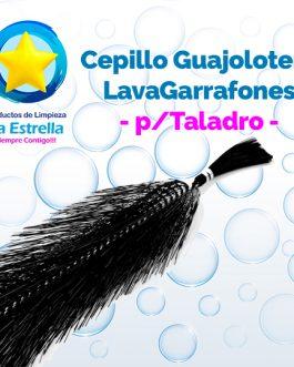 CEPILLO GUAJOLOTERO LAVAGARRAFONES P/TALADRO***