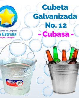 CUBETA GALVANIZADA #12 // CUBASA