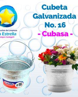 CUBETA GALVANIZADA #16 // CUBASA