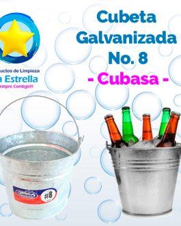 CUBETA GALVANIZADA #8 // CUBASA